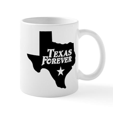 Texas Forever (White Letters) Mug