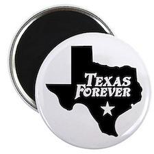 Texas Forever (White Letters) Magnet