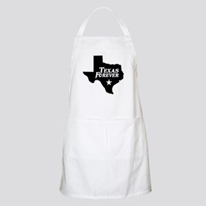 Texas Forever (White Letters) Apron