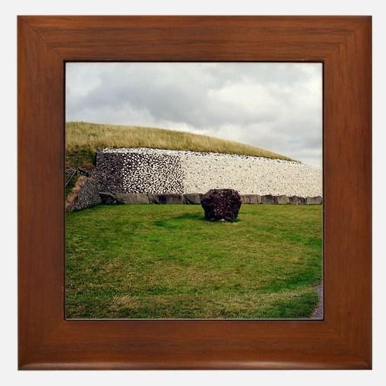 Newgrange Framed Tile