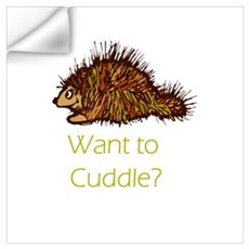 Want to Cuddle? Wall Decal