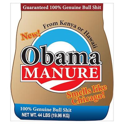 Obama Manure Poster