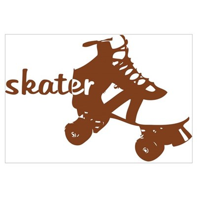 Skater Canvas Art