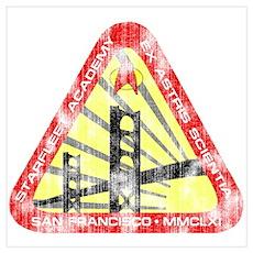 Starfleet Academy (worn look) Poster