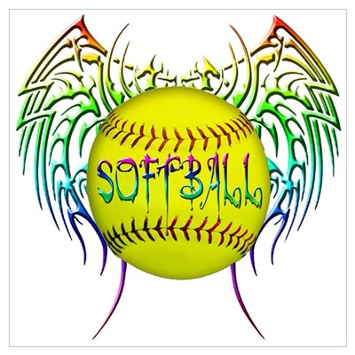 Tribal softball Poster