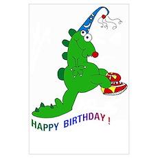 Happy Birthday Dino! Poster