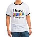 I Support All Causes Ringer T