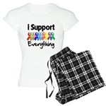 I Support All Causes Women's Light Pajamas