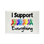 I Support All Causes Rectangle Magnet (100 pack)