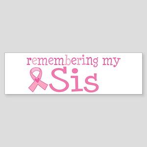 Breast Cancer Sis Sticker (Bumper)