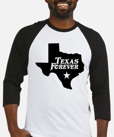 Texas Forever (Black - Cutout Ltrs) Baseball Jerse