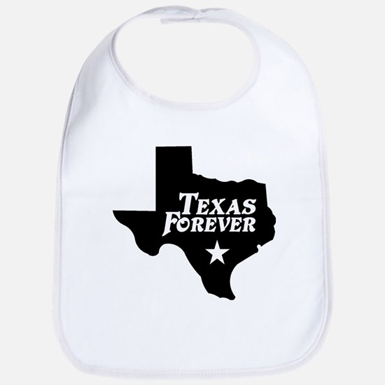 Texas Forever (Black - Cutout Ltrs) Bib