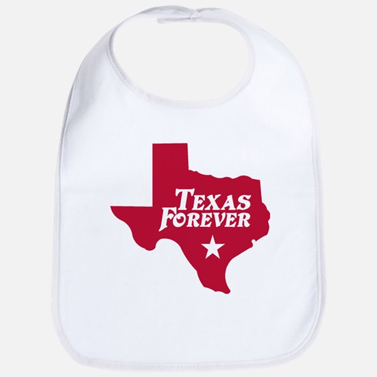 Texas Forever (Red - Cutout Ltrs) Bib