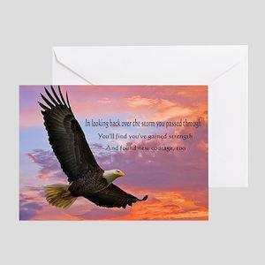 Wings of Prayer Greeting Card
