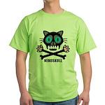 nekoskull Green T-Shirt
