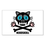 nekoskull Sticker (Rectangle 50 pk)