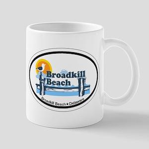 Broadkill Beach DE - Oval Design Mug