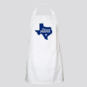 Texas Forever (Blue - Cutout Ltrs) Apron