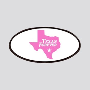 Texas Forever (Pink - Cutout Ltrs) Patches