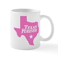 Texas Forever (Pink - Cutout Ltrs) Mug