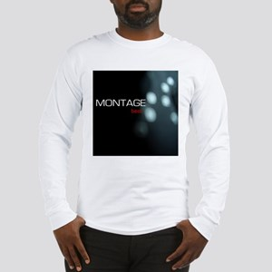 Montage TShirt CD Front Long Sleeve T-Shirt