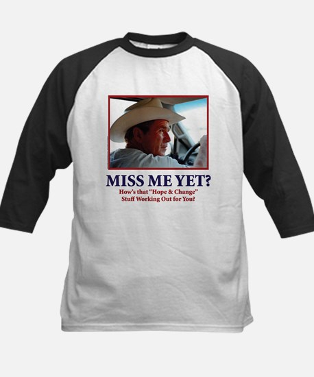 George Bush - Miss Me Yet?? Kids Baseball Jersey