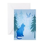 Cool Cat Greeting Cards (Pk of 20)