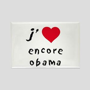 Obama encore Rectangle Magnet