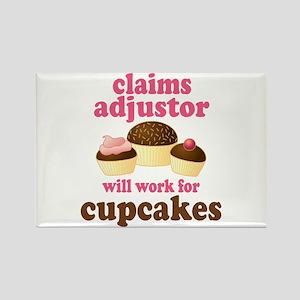 Funny Claims Adjustor Rectangle Magnet