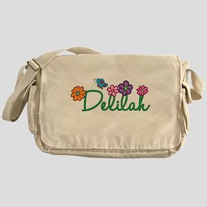 Delilah Flowers Messenger Bag