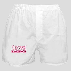 I Love Kadence Boxer Shorts