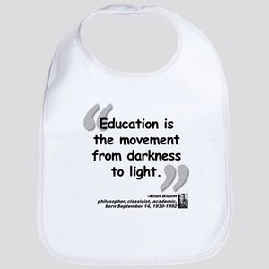 Bloom Education Quote Bib