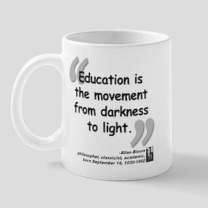 Bloom Education Quote Mug