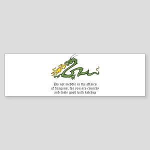 Dragon Affairs Sticker (Bumper)