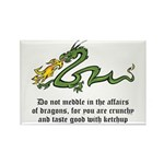 Dragon Affairs Rectangle Magnet (100 pack)