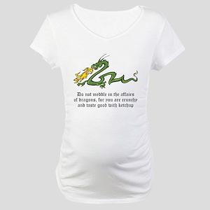 Dragon Affairs Maternity T-Shirt