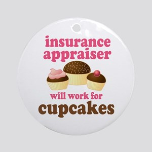 Funny Insurance Appraiser Ornament (Round)