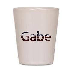 Gabe Stars and Stripes Shot Glass