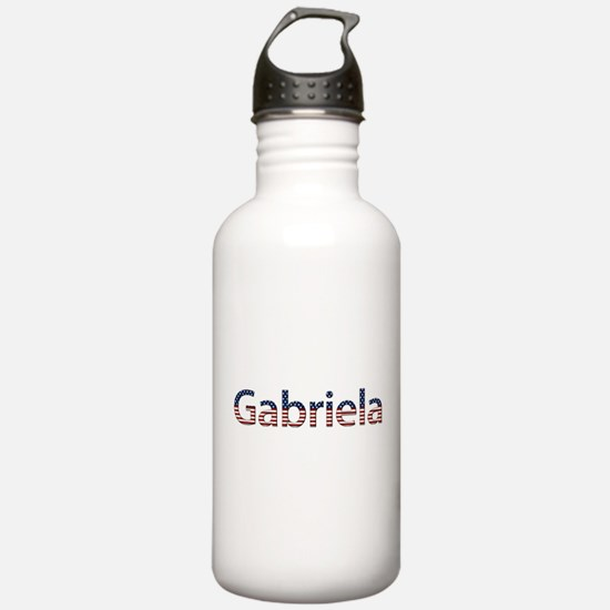 Gabriela Stars and Stripes Sports Water Bottle