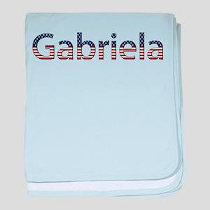 Gabriela Stars and Stripes baby blanket