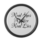 Real Eyes Large Wall Clock
