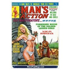 MAN'S ACTION, June 1969 Poster