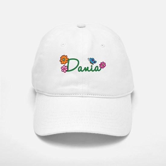 Dania Flowers Baseball Baseball Cap