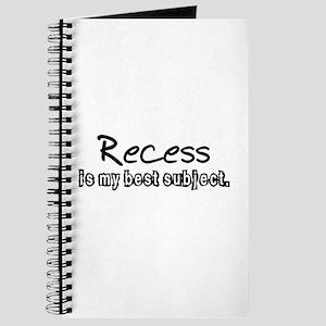 Recess Journal