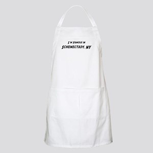 Famous in Schenectady BBQ Apron
