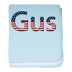 Gus Stars and Stripes baby blanket