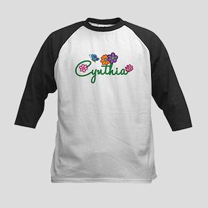 Cynthia Flowers Kids Baseball Jersey