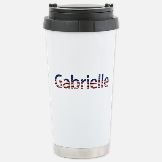 Gabrielle Stars and Stripes Stainless Steel Travel