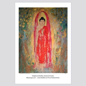 """enlightened garden, enchanted buddha"" LG s"