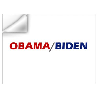 OBAMA / BIDEN Wall Decal